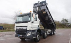 DAF CF400 Steel Body tipper