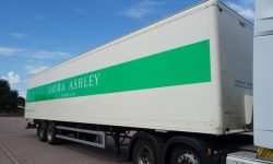Tandem Axle Garment Box Trailers